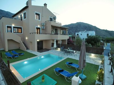 Photo for villa with private pool near to kournas lake