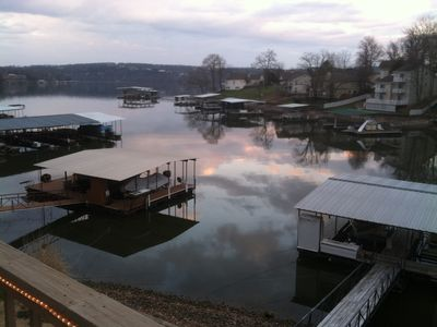 Photo for Lakeside Paradise, 4 bedroom, Sleeps 12-14,  2 Well Boat Dock, Awesome View,