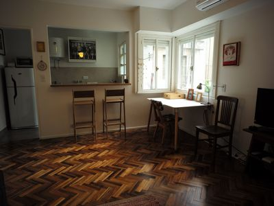 Photo for LOCATION! Cosy 1 bdr apartment fully equipped in Recoleta