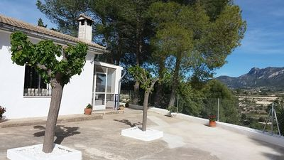 Photo for SPACIOUS 4 bedroom COUNTRYSIDE HOME WITH MAGNIFICENT VIEWS nr. Valencia/Alicante