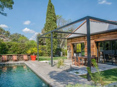 Photo for Beautiful Languedoc Villa with pool in Montpellier