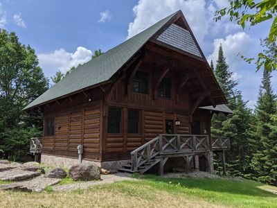 Photo for Cote Nord 5 bedroom Log cabin Hideaway