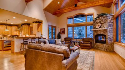 Photo for Fireside Lodge: Virtual Tour, Hot Tub, Ski-in/Out, Firepit, Shuttle, Foosball