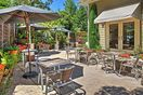 Enjoy al fresco meals with the whole group of 14 out on the gorgeous patio.