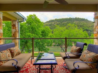 Photo for Fabulous 2/2  condo right on the Guadalupe River!