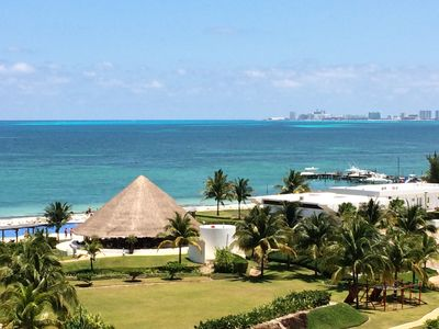 Photo for Cancun beach front apartment, amazing views