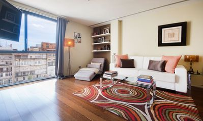 Photo for Chic 80m2 Apartment on Passeig de Gracia in the very center of Barcelona - B118