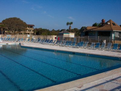 Photo for Oceanfront 1st Row ~ Private Corner Unit ~ Closest to Boardwalk Pool & Beach Bar
