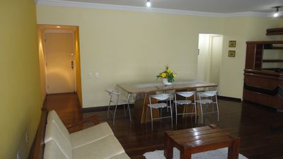 Photo for Spacious Furnished Apt 120 meters from Praia do Futuro, 4 suites w / air conditioning