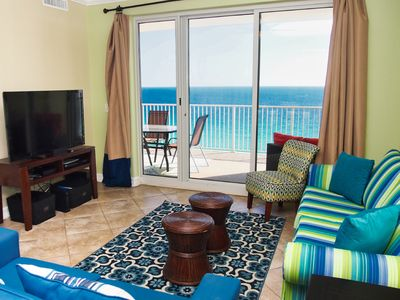 Photo for 2018 UPGRADED Beach-Front  Condo with Amazing Views, New Balcony Furnishings