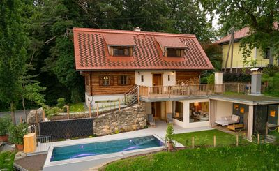 Photo for new built holiday home in idyllic hillside situation