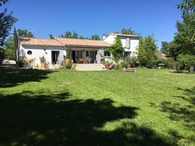 Photo for Holiday home in Cevennes Piedmont / Gard for 8 people