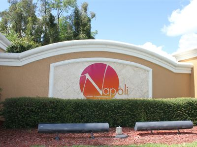 Photo for A Hidden Gem - Napoli Luxury Condominiums - 2B/2B Condo in Gated Community