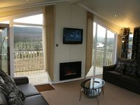 A very comfortable holiday home with stunning views