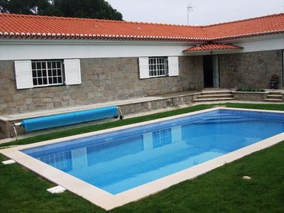 Photo for Casa da Pedra with a private heated swimming pool and near the beach