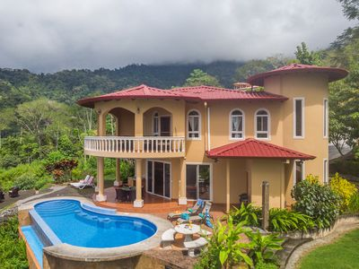 Photo for Stunning 180 degree Ocean, Mountain and Jungle Views!