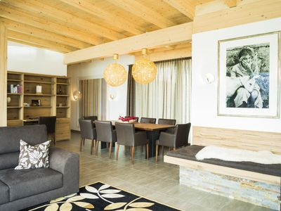 Photo for 5-star penthouse for 8-10 people, 200m² with terrace, summercard incl.