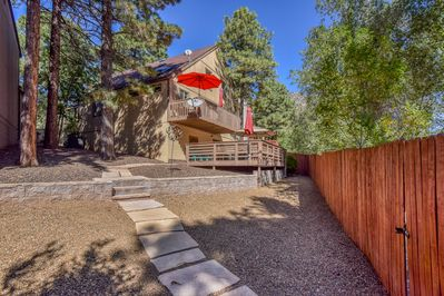 Fenced Backyard, Dual Decks, Path to Gate leads to Green Space and Elden Trails!