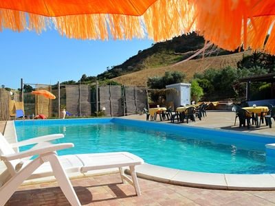 Photo for CA002 Villa Rustica with swimming pool 6 beds