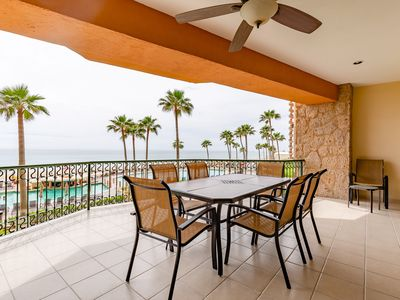 Photo for Sonoran Sea SSE 208 - 3 Bedroom Deluxe Upper Floor Ocean Front