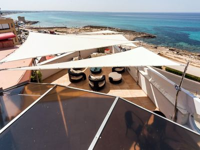 Photo for Luxurious penthouse with roof terrace and Jacuzzi - Residence Baia Blu - Attico Suite Aurora