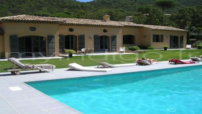 Photo for beautiful charming country house with pool near Pampelonne