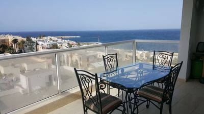 Photo for Brand new, lovely, sea view Qawra apartment