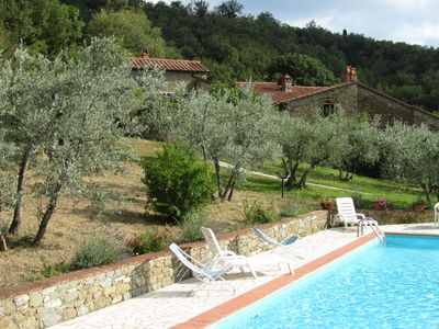 Photo for Super deal - homeaway:  Family Tuscan Cottage, 2 bedrooms, with pool