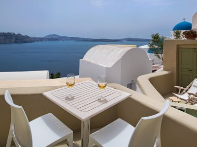 Photo for 1BR Villa Vacation Rental in Santorini