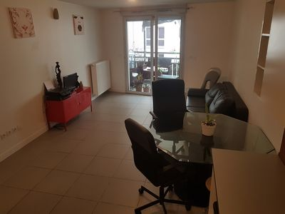 Photo for Nice downtown apartment with Terrace + Private Parking