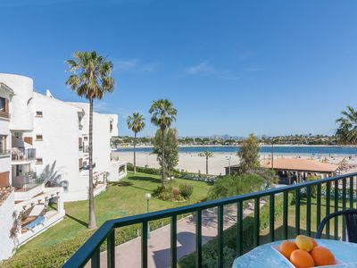 Photo for Carabela - Sea View apartment in Port d'Alcudia for 4 people