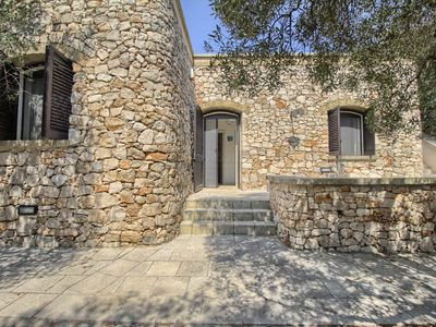 Photo for Spacious Stone House Li Turchi apartment in Leuca with air conditioning & private parking.