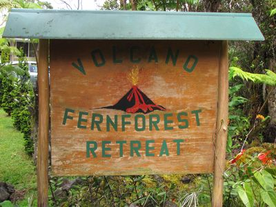Photo for Volcano Fern Forest Retreat We Offer Two Clean Spacious Suites