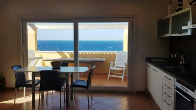 Photo for APARTMENT WITH SWIMMING POOL AND SEA VIEWS