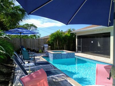 Photo for From $178 Sept Thru April Spotless 4 Bdrm Pool SPA Bikes Great Rm Sleeps 10