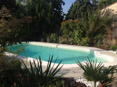Photo for Stylish Napoleonic House Nr Lectoure In Gascony, with Private Pool & Garden