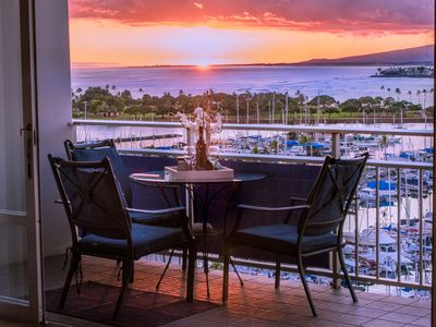 Upgraded Beachfront condo with gorgeous sunsets and central location.
