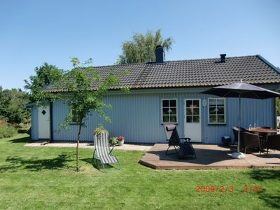 Photo for Cottage on Osterlen with sauna and fireplace, near the nature reserve with lake and forest.