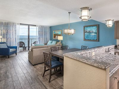 Photo for Two Bedroom Ocean Front, Myrtle Beach, South Carolina (1890400)