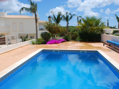 Photo for Detached Stylish Contemporary Villa With Private Heated Pool, Sea Views, Air Con