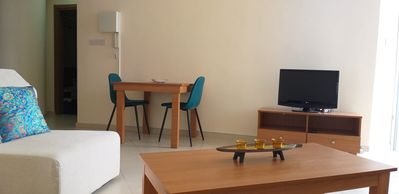 Photo for 1b Seaview Apartment - Finikoudes Beach