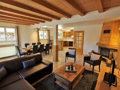 Photo for Newly Refurbished Chalet Plénay - 40m from Lifts and Pistes