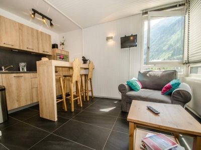 Photo for Apartment Chamonix-Mont-Blanc, studio flat, 3 persons