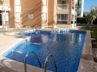 Photo for Iranzu Gaia II apartment in Cambrils with air conditioning, private parking, shared terrace, shared…