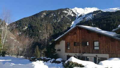 Photo for Apartment in chalet in Champagny - La Plagne