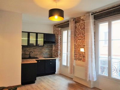 Photo for QUARTIER ST-PIERRE - Cozy apartment in the heart of Toulouse, on the Garonne