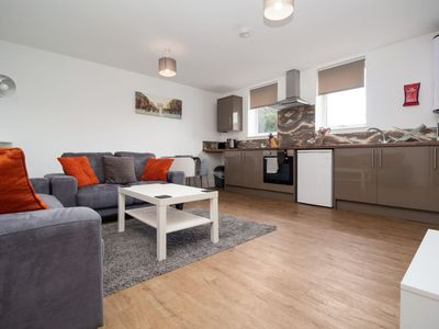 Photo for SAV Apartments Flat 8 - 1 Bed Luxury Studio Apartment-Regent Road - Leicester