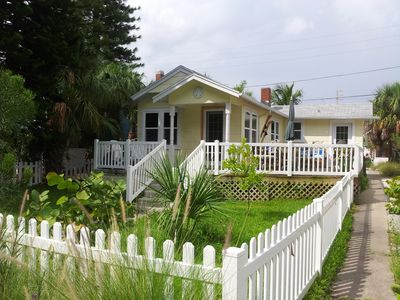 Welcome to The Bungalow. Enjoy all that Treasure Island has to offer!