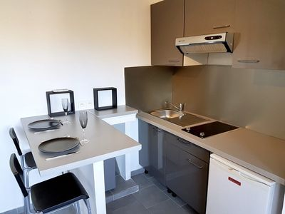 Photo for One-bedroom modern air conditioned with parking