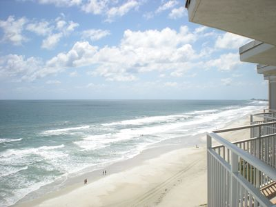"Southern View from Oceanside 39""  Balcony"
